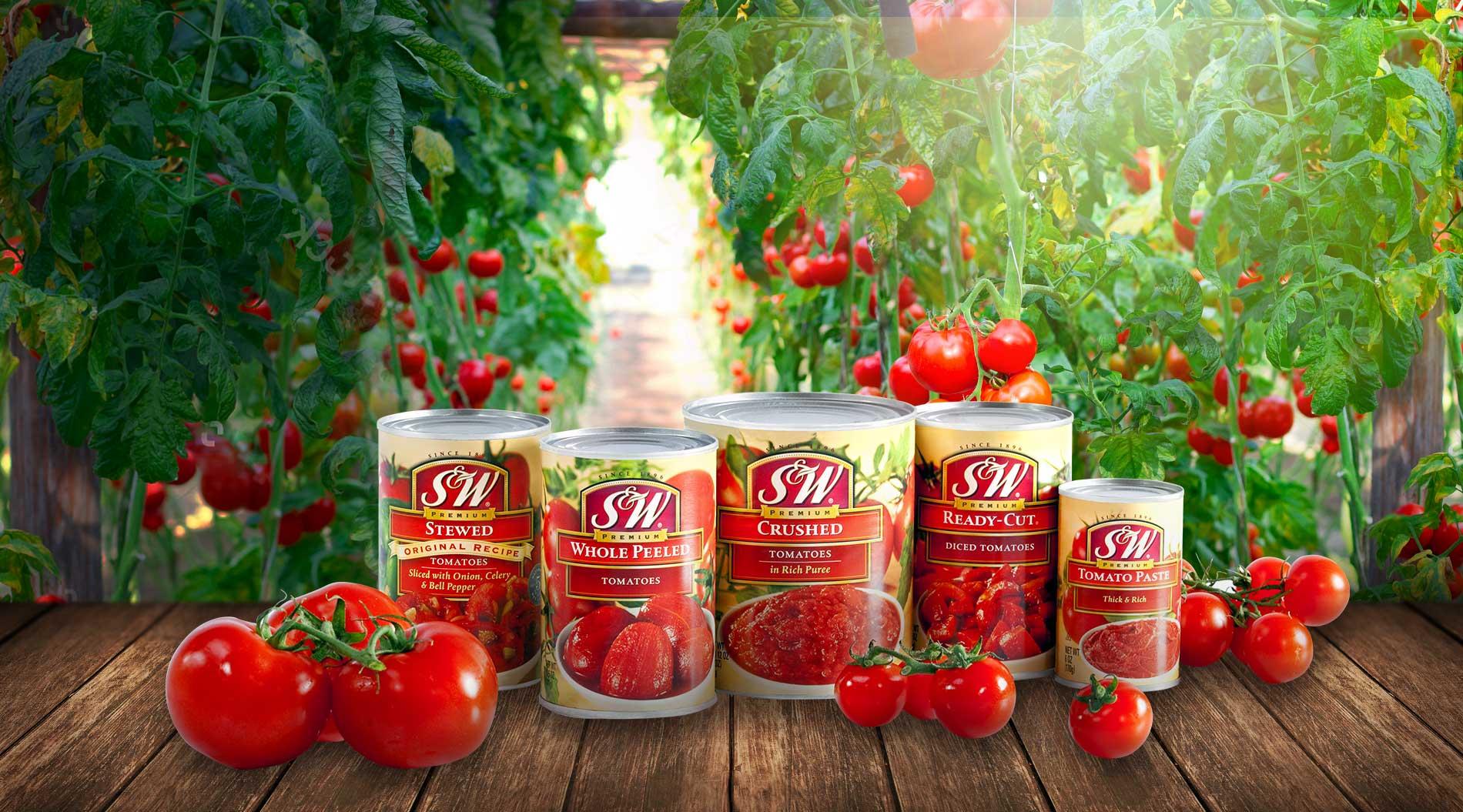 S&W Premium Foods - Canned Fruits, Vegetables, Snacks, Beverages